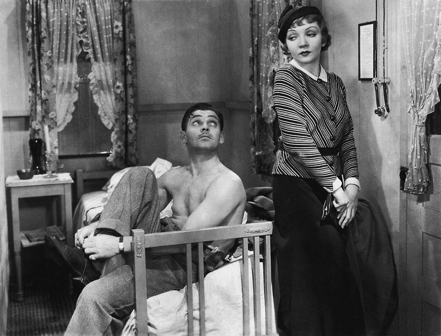 Clark Gable Claudette Colbert It Happened One Night photo