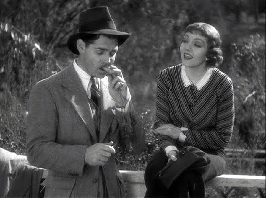 Clark Gable Claudette Colbert 1934 It Happened One Night photo