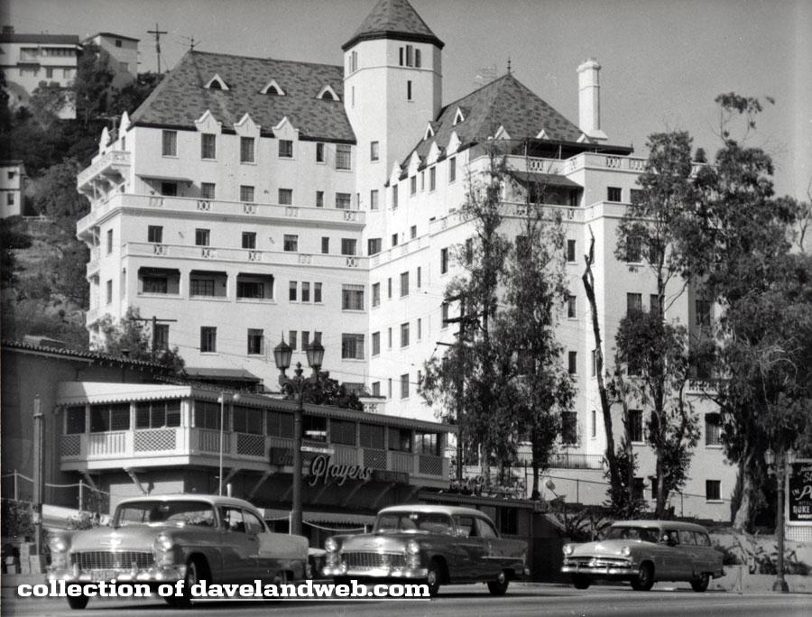 Vintage Chateau Marmont photo, pre-1953