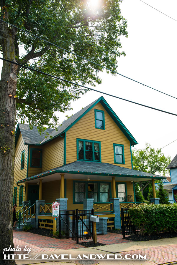 naturally if you go to cleveland ohio you must stop by the tremont neighborhood to visit this 19th century victorian home that was used in the film for