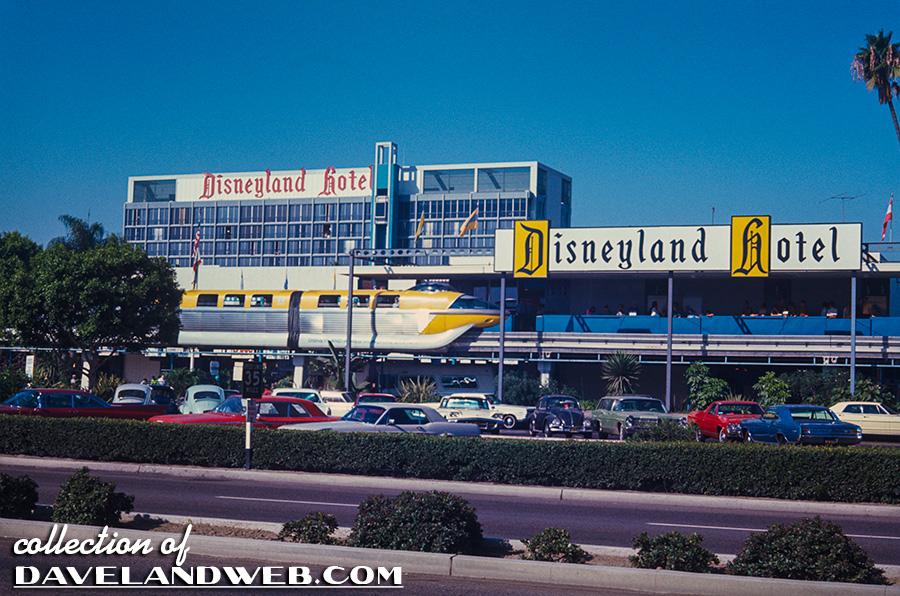Disneyland Hotel Take The Monorail