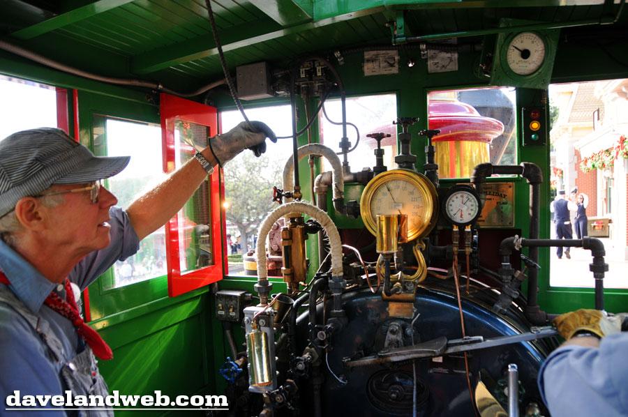 Daveland Disneyland Railroad Cab Photos