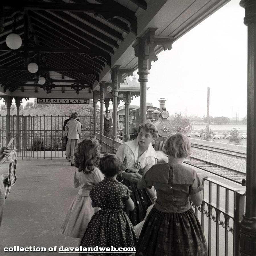 1955 Disneyland Main Street Train Station