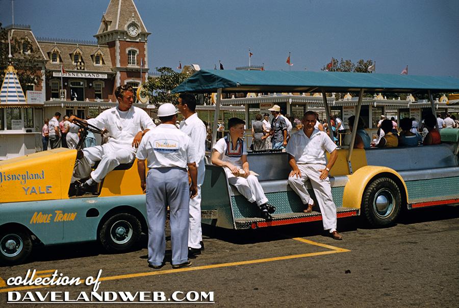 1956 Disneyland Tram photo