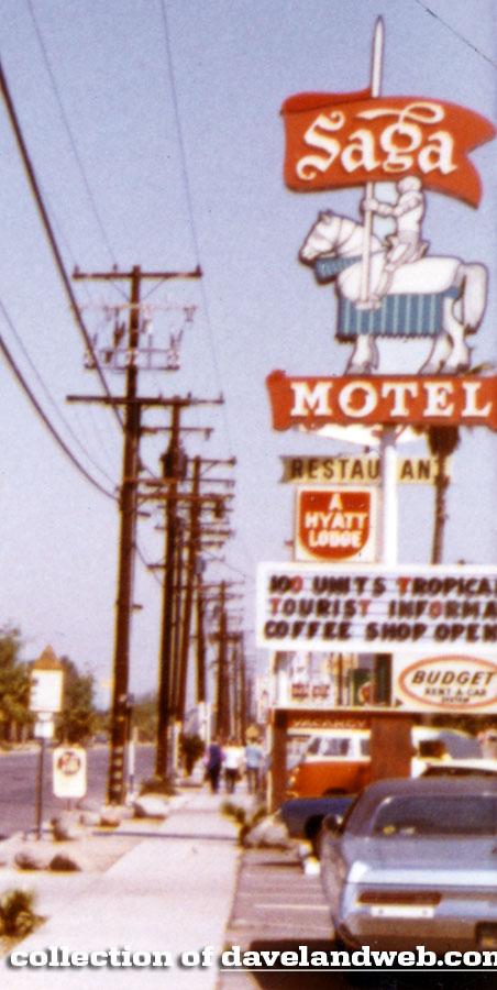 Davelandblog The Saga Motel Spring 1971