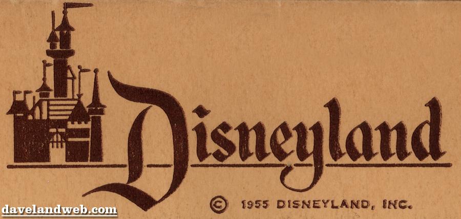 Image Gallery disneyland 1955 logo
