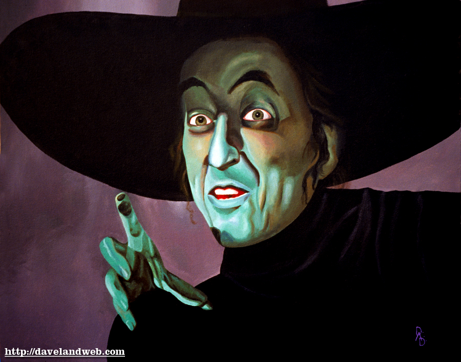 The Art of Dave DeCaro: Wicked Witch of the West