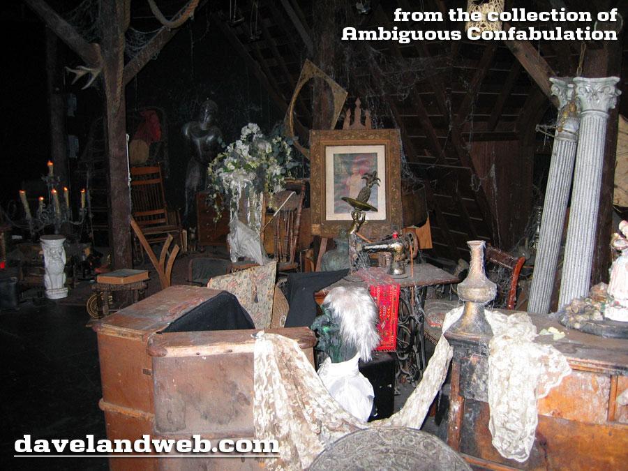 Davelandblog Freaky Fridays The Haunted Mansion The Attic