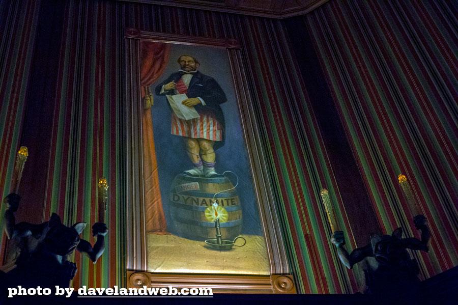 Haunted Mansion Foyer Organ : Daveland disneyland haunted mansion photo page