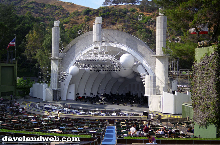 Daveland hollywood bowl photo page for Terrace 4 hollywood bowl