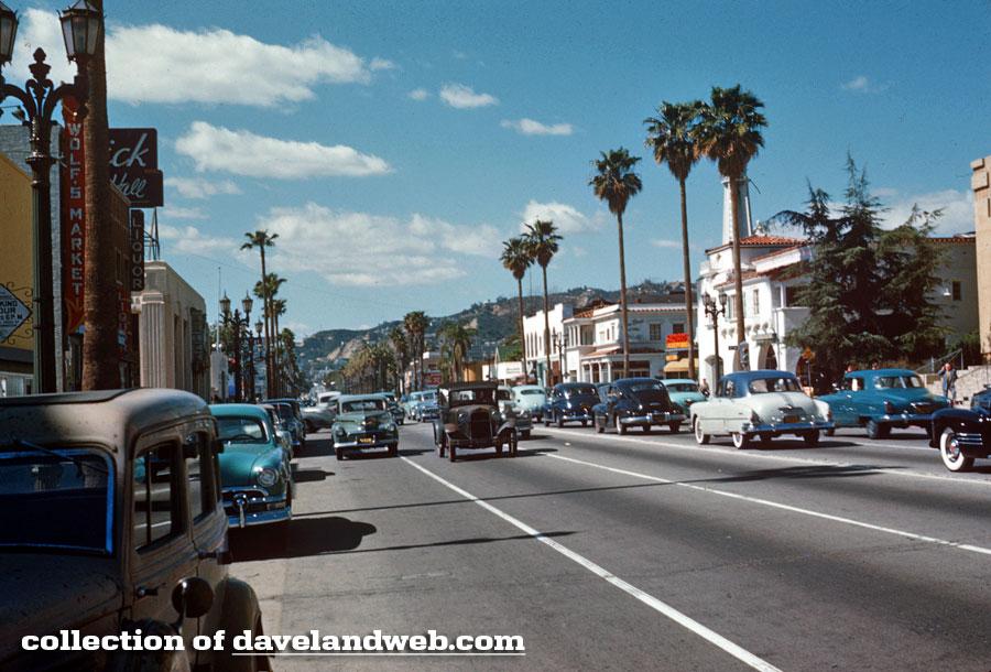 Davelandblog: 1950s Sunset Boulevard