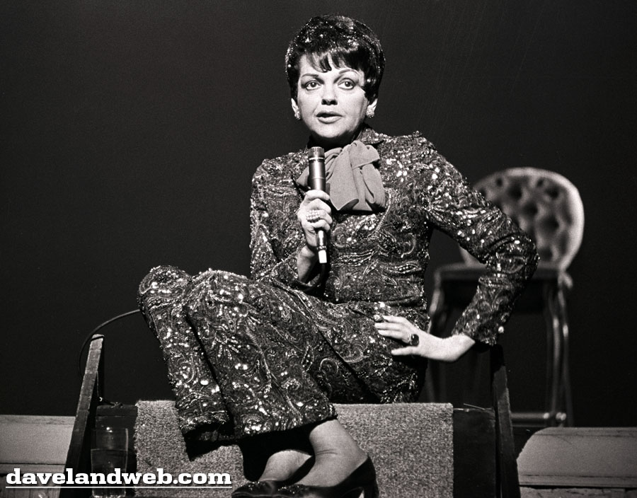 Judy only worked on the film briefly before being let go  she was allowed  to keep this sequined pantsuit and wore it frequently in her live concerts. a7b20b4dd