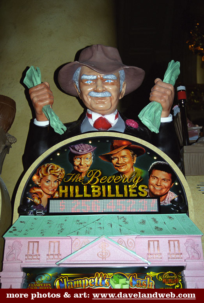 beverly hillbillies slot machine for sale