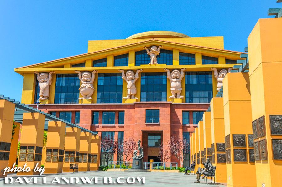 Disney Animation Studio Tour Burbank