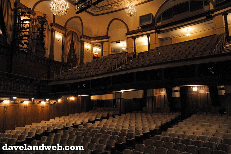 Booth Theatre Mezzanine