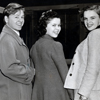 Mickey Rooney, Shirley Temple, and Judy Garland at MGM, February 18, 1941