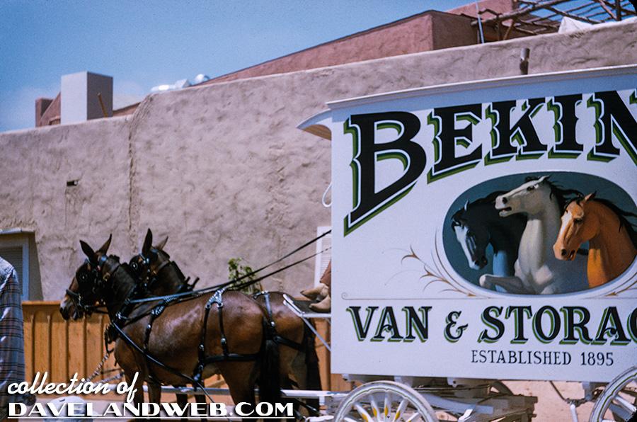 Bekins Truck at Disneyland